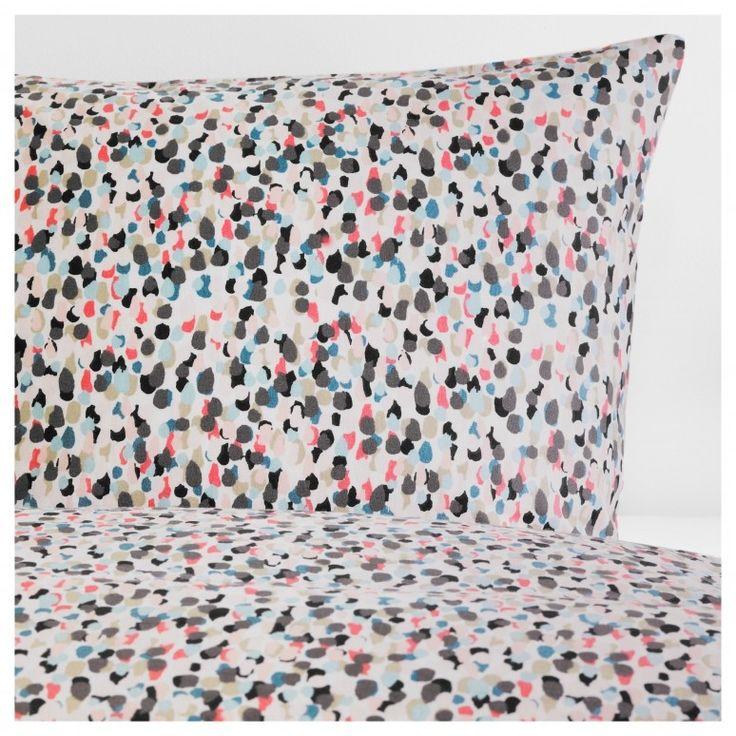 Bettwäsche 200X200 Ikea Småstarr Quilt Cover And 4 Pillowcases  Dotted/multicolour 200X200 2018