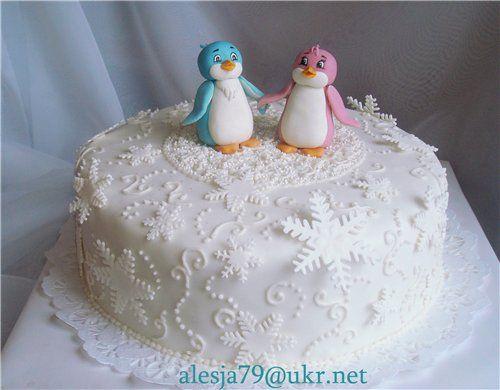 торт для близняшек с пингвинами - Поиск в Google