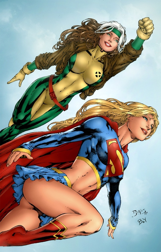 Have dc comics ever actually showed a female superhero having sex andor an orgasm with somebody