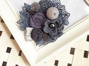 Три образа для броши - Ярмарка Мастеров - ручная работа, handmade