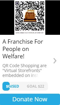 CHUFFED DONOR CAMPAIGN FOR QR CODE SHOPPING GROWTH