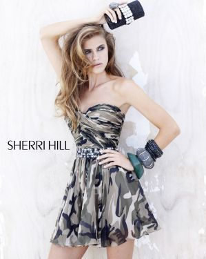 OK... don't know when I will need a Camo dress, but you know we have themed parties all the time... love this dress!!