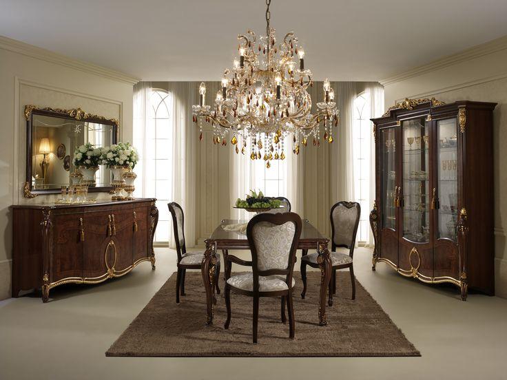 Jadalnia Donatello - Salony i Jadalnie - Rad-Pol - Meble Stylowe, meble włoskie, klasyczne meble retro, sofy stylowe, narożniki