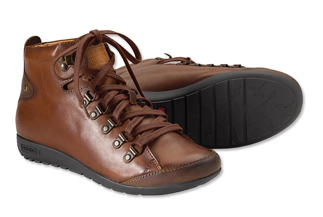 Pikolinos takes classic sneaker styling up a notch in these premium-quality leather lace-ups. Semi-vegetable-tanned leather with a rich patina. Two-toned design. Removable insole. Ridged sole for sure traction. Imported.  <br />European sizes: 36(US 5½-6), 37(US 6½-7), 38(US 7½-8), 39(US 8½-9), 40(US 9½-10), 41(US 10½-11).