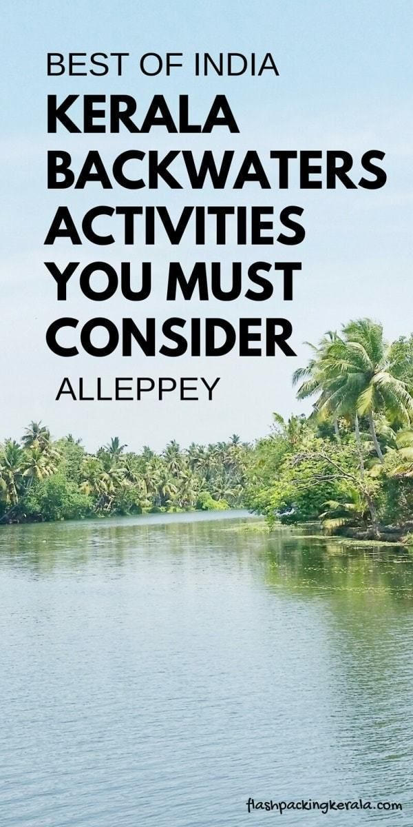 Alleppey Kerala backwaters on a budget 🌴 Best things to do