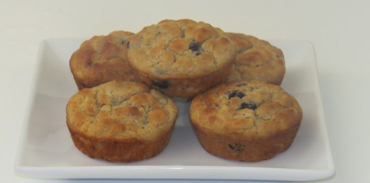 Gluten, dairy and nut free and sugar berry muffins. Not dry like a lot of gluten free food and still nice and sweet.