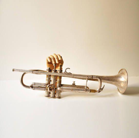Vintage Couesnon Paris Tumpet  French Instrument