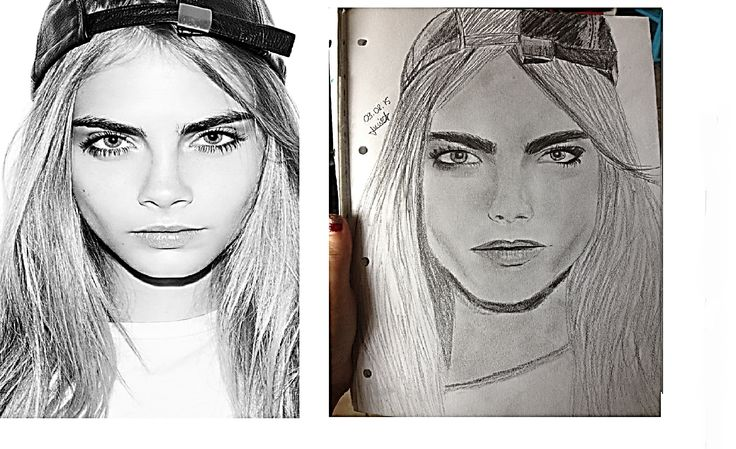 Dessin de Cara Delevingne, speed drawing ici ! https://www.youtube.com/watch?v=t8zowaw3Up8