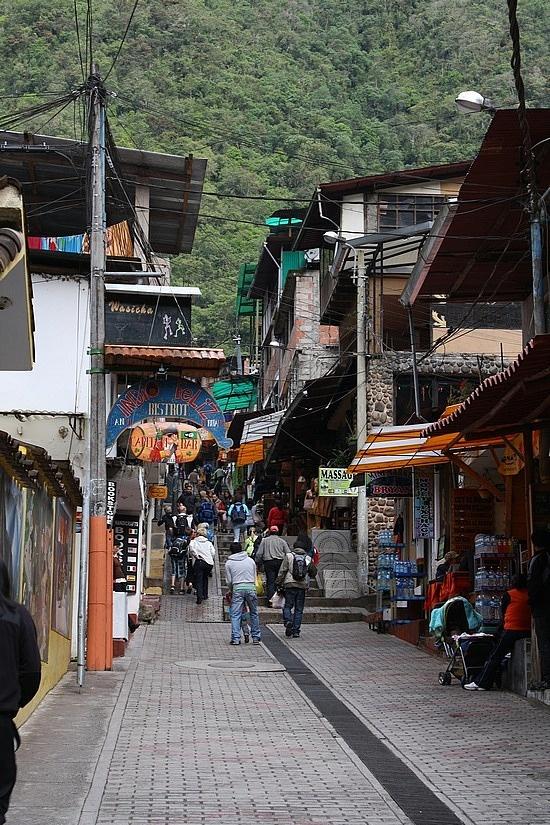 Aguas Calientes, Peru   At the base of Machu Picchu.