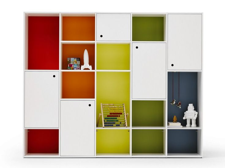 Книжный шкаф в детскую комнату - Luce - http://mebelnews.com/knizhnyj-shkaf-v-detskuyu-komnatu-luce