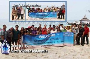 GroupM Interaction at Pulau Sepa - Pulau Seribu | Thousand Islands. #pulauseribu #pulausepa #event #thousandislands