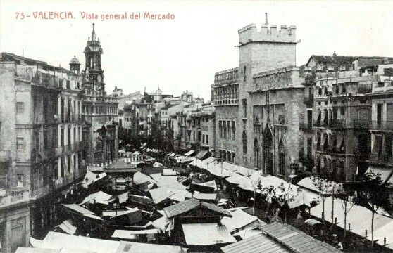 Mercado central y Lonja Valencia