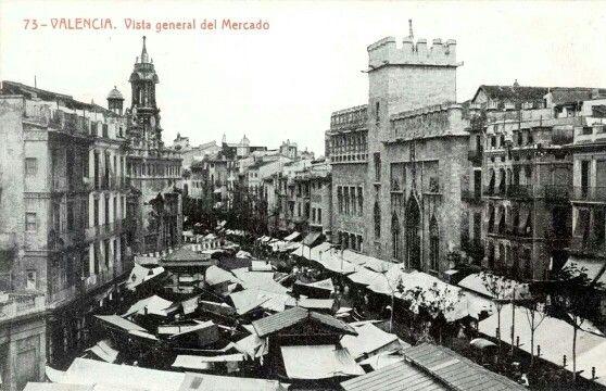 Mercado central y lonja valencia valencia antigua for Oficina objetos perdidos valencia