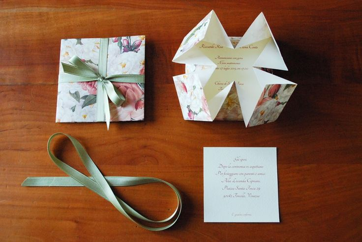 Incartesimi: Coordinato carta Armonia - Matrimonio Elena e Riccardo