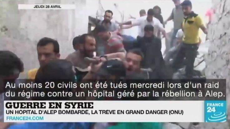 Hôpital bombardé en #Syrie, attentat-suicide en #Turquie, crise au #Venezuela et #Primaires US... Le point sur l'actualité en VIDÉO