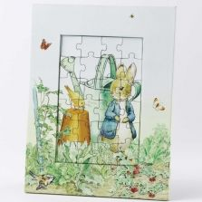 Beatrix Potter jigsaw puzzle - decoration inspiration for the cot.