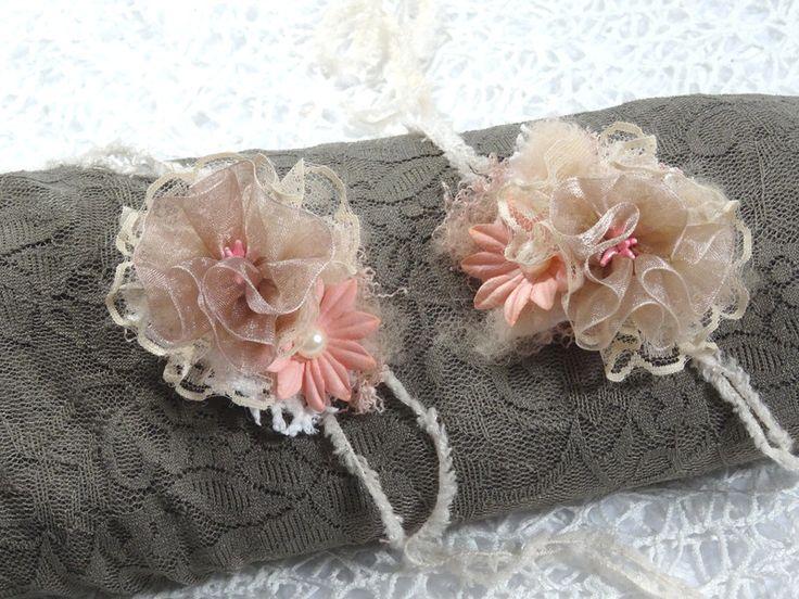 Haarbänder - Baby Haarband Accessoire Fotoshooting Taufe Prop - ein Designerstück von MONICCI_Handmade_Props bei DaWanda