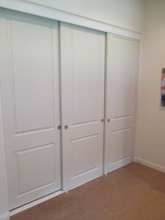 3 Panel Sliding Closet Doors Google Search With Images