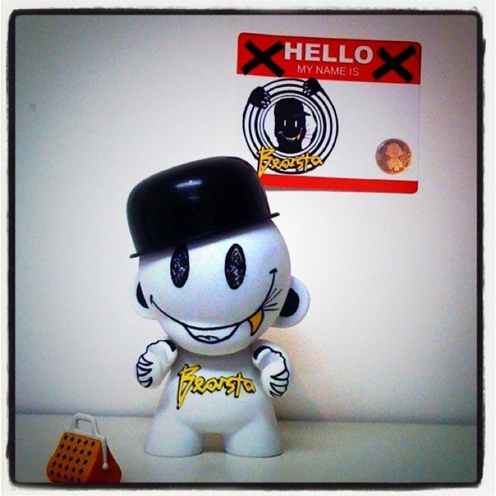 BEARSTA DiY MUNNY for the TOY ARMY SHOW-The 1st CUSTOM DESIGNER TOYS EXHIBITION in GREECE 2011