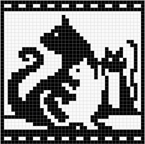 Ravelry: Cat and Kittens Chart pattern by Melanie Nordberg