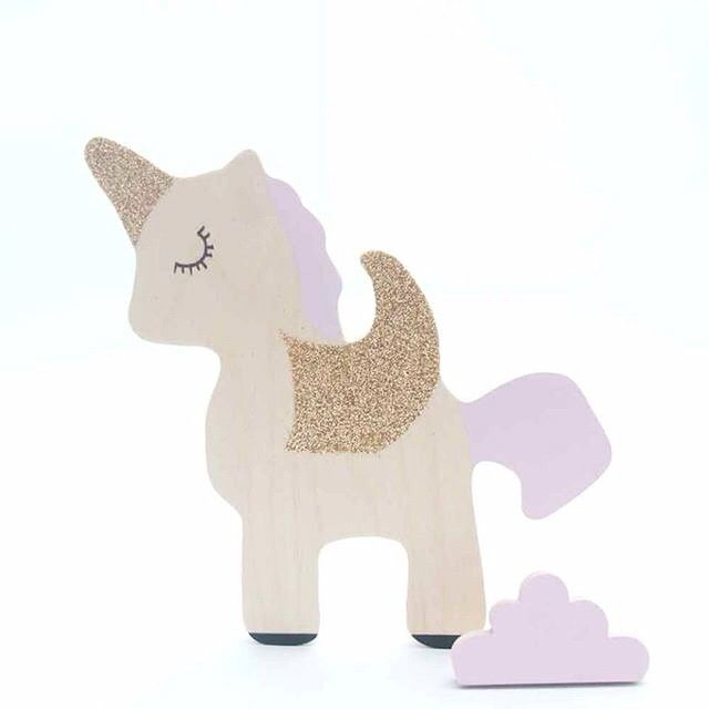 The Wall Collective Unicorn Night Light - A lovely soft light that you can leave on when your little one is sleeping. Our lights run on 2 x AA batteries which means no cords!