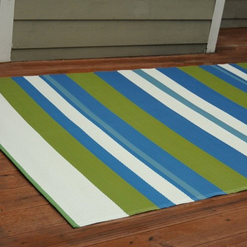 Find it at the Foundary - Seaside Outdoor Rug - 5 x 8 ft.