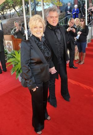 Connie Smith & Marty Stuart arrive @ 2012 Country Music Hall of Fame Medallion Ceremony, Sunday, October 21, 2012. Photo by Peyton Hoge.