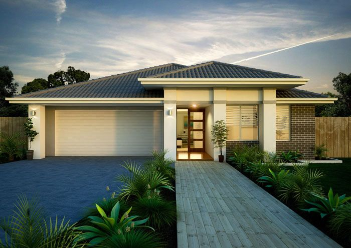 17 best images about home make do on pinterest home design villas and modern houses - Single storey home designs sydney ...