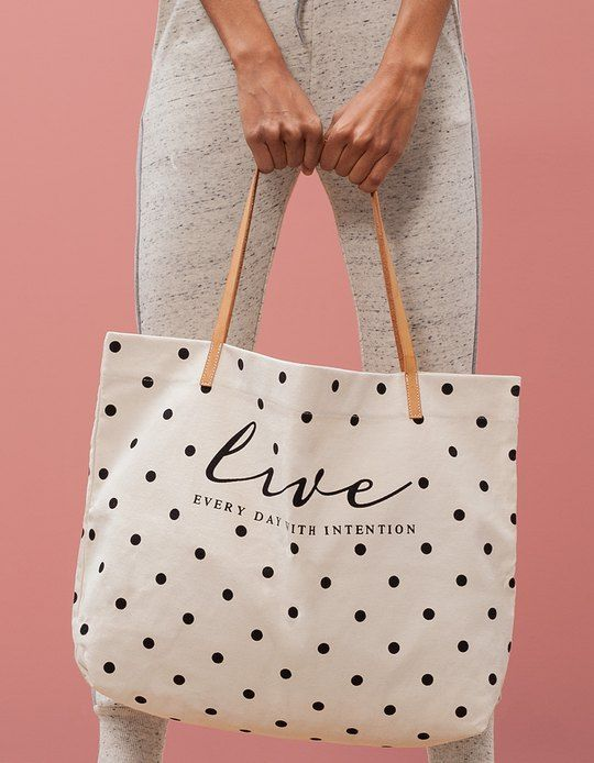 1000  ide tentang Canvas Shopper Bag di Pinterest