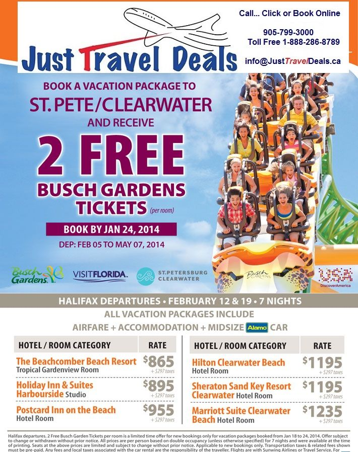 Busch Gardens Vacation Packages Deals Packages Williamsburg Va Vacations And Deals Busch