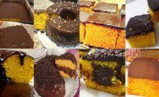 10 receitas faceis de bolo de cenoura