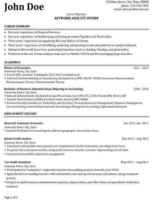9 best Best Network Engineer Resume Templates  Samples images on Pinterest  Sample resume