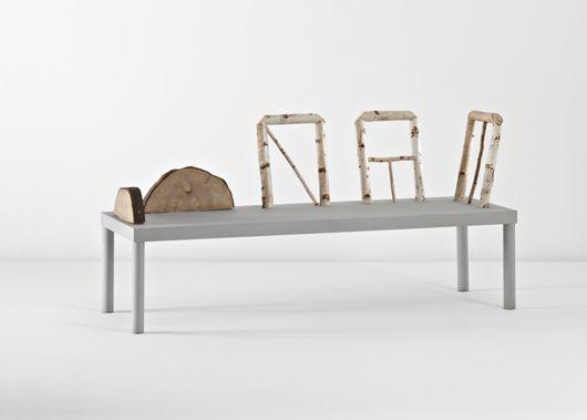 Bench by Andrea Branzi