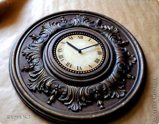 Мастер-класс Поделка изделие Моделирование конструирование Роспись Старинные часы или Антикварная лавка Краска фото 16