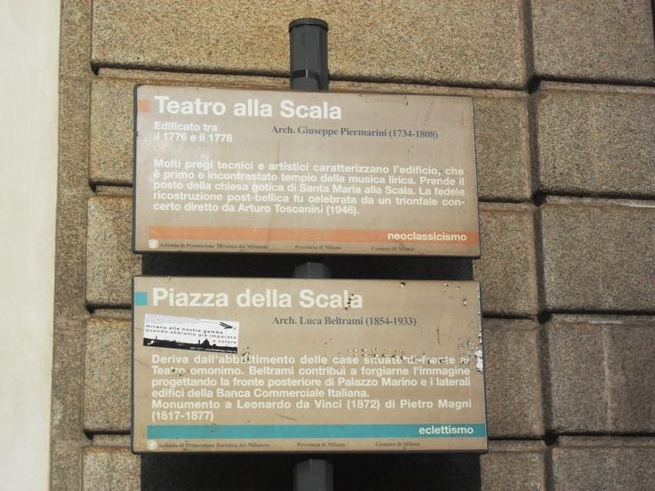 Scala, Milano