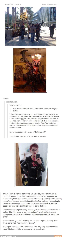Nerds trolling christians (lol)