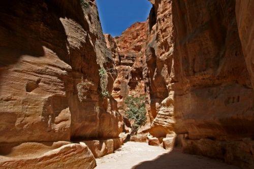 Rotswoningen Petra- 1 van de 7 wereldwonderen