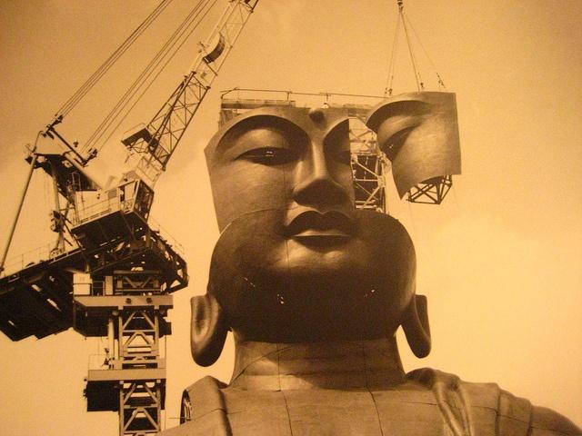 Ushiku Big Buddha, world's tallest buddha 牛久大仏