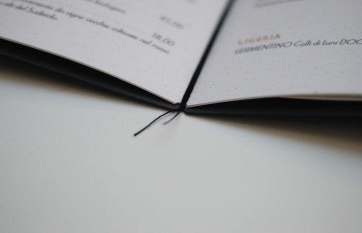 #Shiro #AlgaCarta #Favini Menù Ristorante Vivanda / Design: @frushit www.frush.it - Find more about #Shiro http://www.favini.com/gs/en/fine-papers/shiro/features-applications/