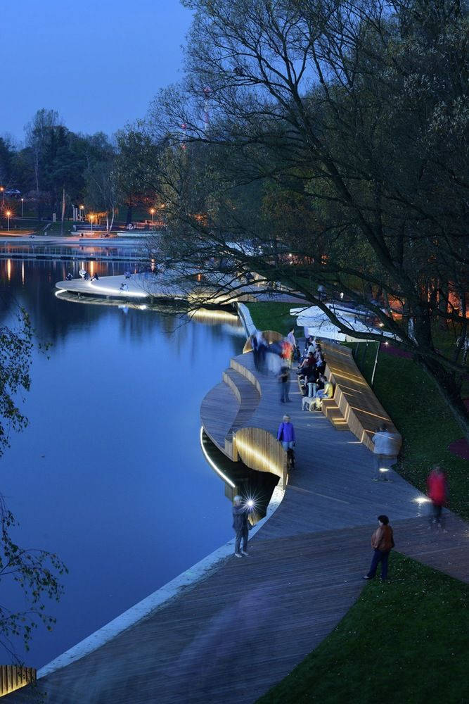 Galería de Reurbanización Orilla del Lago Paprocany / RS+ - 12