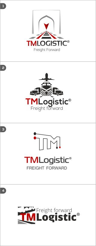 Logo design for a logistic company