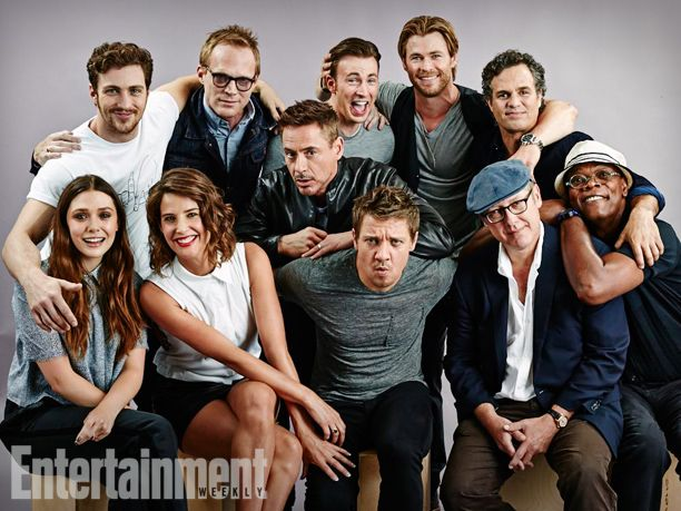 Avengers: Age of Ultron cast at San Diego Comic-Con 2014