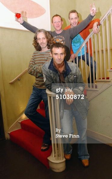 News Photo : Marti Pellow Tommy Cunningham Neil Mitchell and...