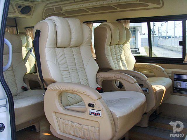 Toyota Hiace Super VIP 9 Seats | Caravan RV | Pinterest ...