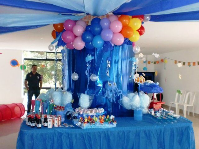 """Photo 1 of 11: Ocean/Under the Sea / Birthday """"SANTY 1""""   Catch My Party"""
