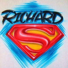Ordered for our wedding :) Airbrush Personalized T Shirt With Superman by BizzeeAirbrush, $18.99