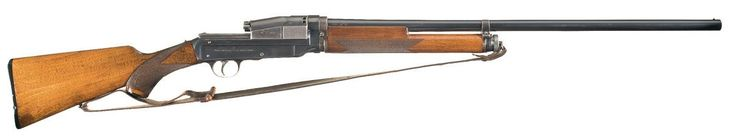 peashooter85:  The Sjogren Inertia Semi-Automatic Shotgun, One of the first semi-automatic shotguns invented, the unique Sjogren was the creation of Swedish inventor Carl Axel Theodor Sjogren. Unlike most if not all other longarms, the Sjogren used what is essentially a recoil operated slide, like on a modern semi-automatic pistol. When fired, recoil from the discharge would force the slide back, which traveled on a set of rails. When the slide was forced back, the empty shell was ejected…