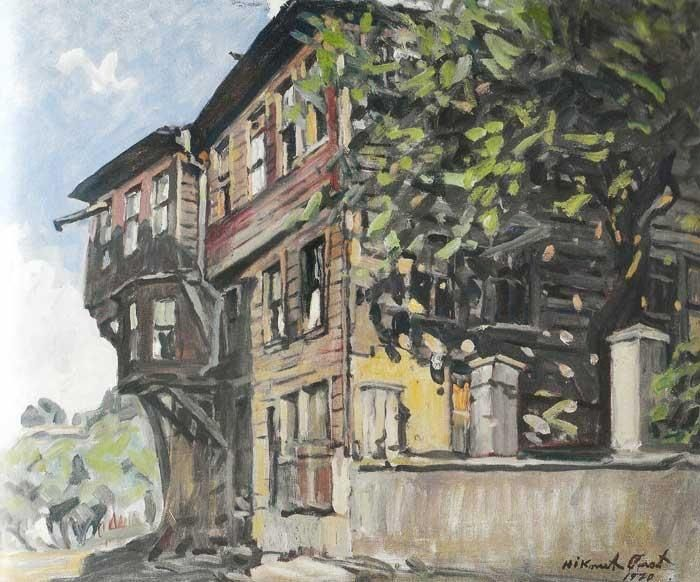 "Hikmet ONAT - ""Büyükdere'de eski ev"""