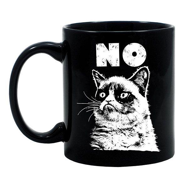 ThinkGeek :: Grumpy Cat No Mug