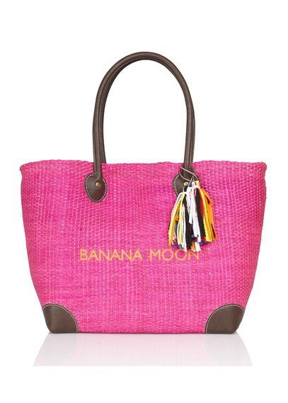 E-shop Sac Cabas En Paille Coloré   Rose Banana Moon pour femme sur Place des tendances Groupe Printemps. Retrouvez toute la collection Banana Moon pour femme.